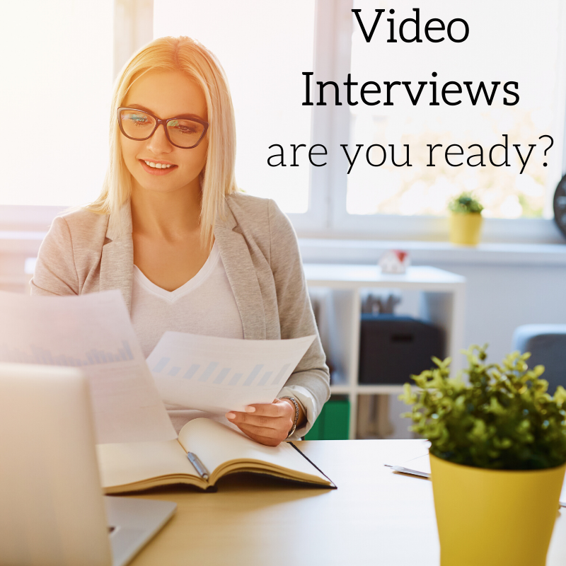 Video Interviewing- Not A Fad Or The Future- It's The Present!