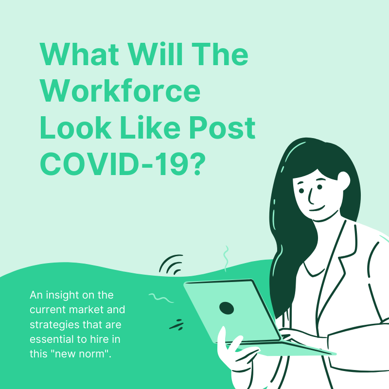 What Will The Workforce Look Like Post COVID-19?